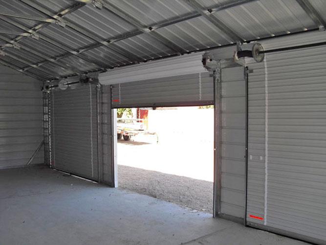 Ворота автоматические для гаража рулонные